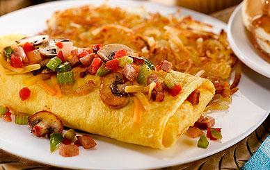 Perkins - Breakfast - 3 Egg Omelets - The Everything