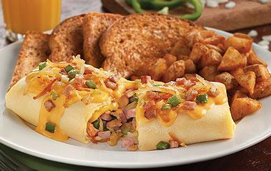 Perkins - Breakfast - 3 Egg Omelets - Granny's Country