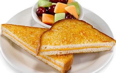 Perkins - Kids Menu - Kids Grilled Cheese