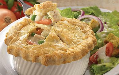 Perkins - Lunch & Dinner - Fork Worthy Entrees - Fresh Baked Chicken Pot Pie
