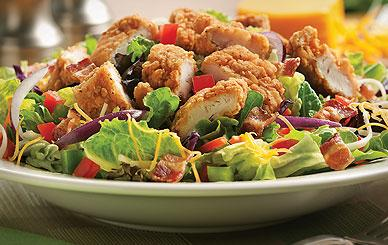 Perkins - Salads & Soups - Honey Mustard Chicken Crunch